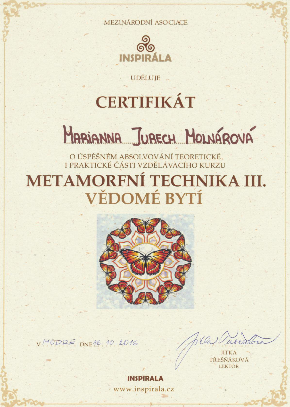 metamorfna technika III.
