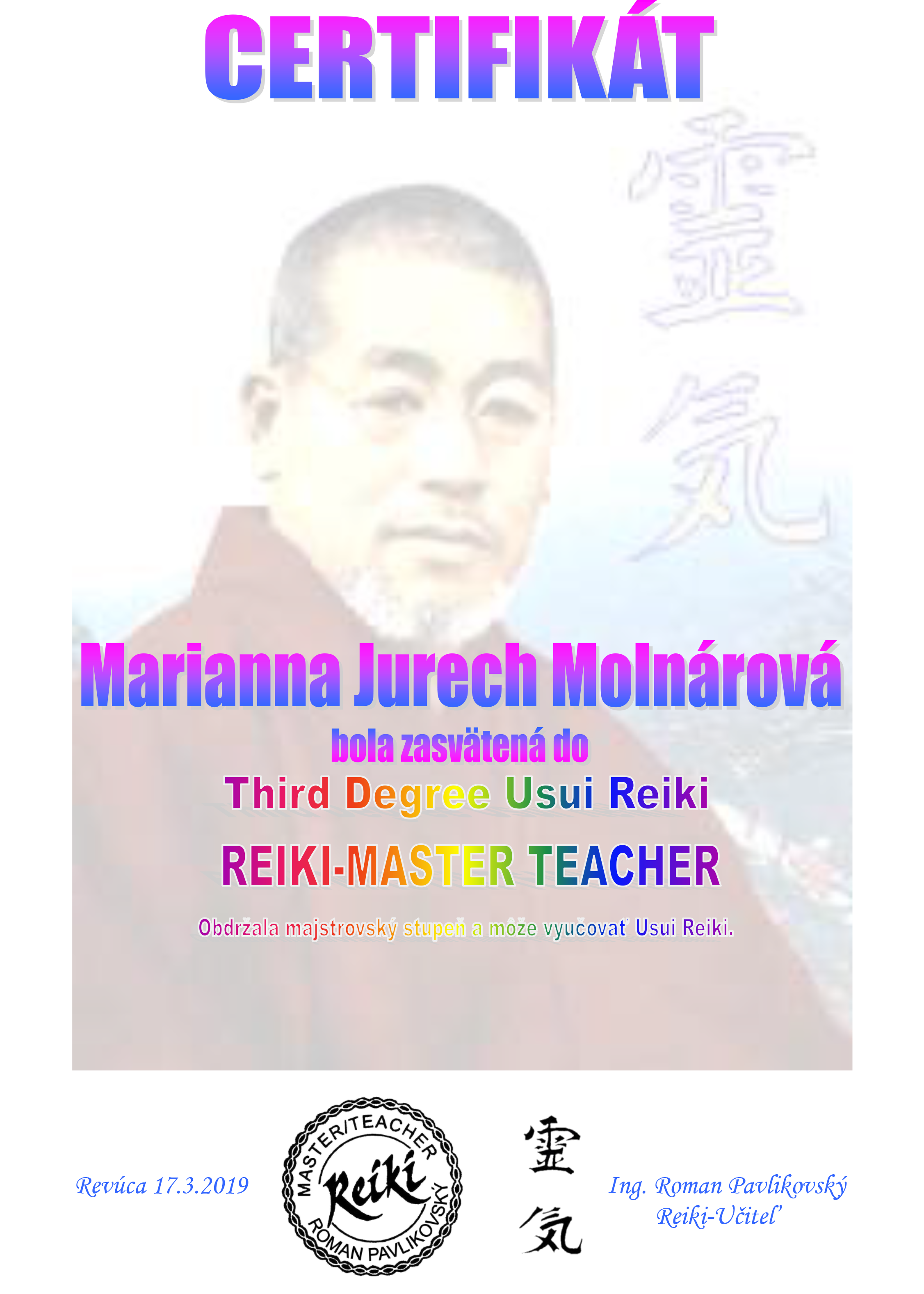 reiki teacher